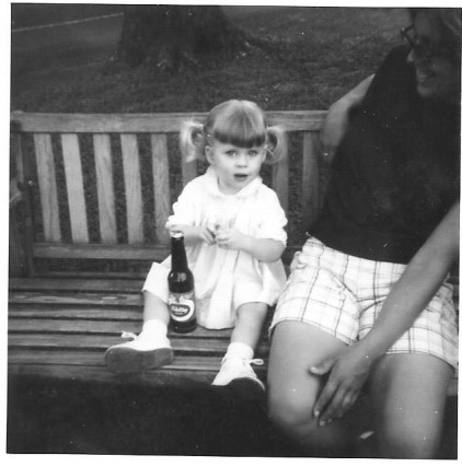 Me with a beer